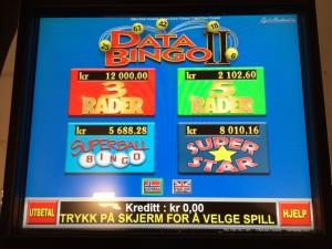 Bilde databingo 2 - skjerm nytt spill (superstar) - Stoa 18 juni 2014