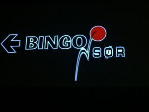 Logo Bingo Sør as på Stoa 22 3 16
